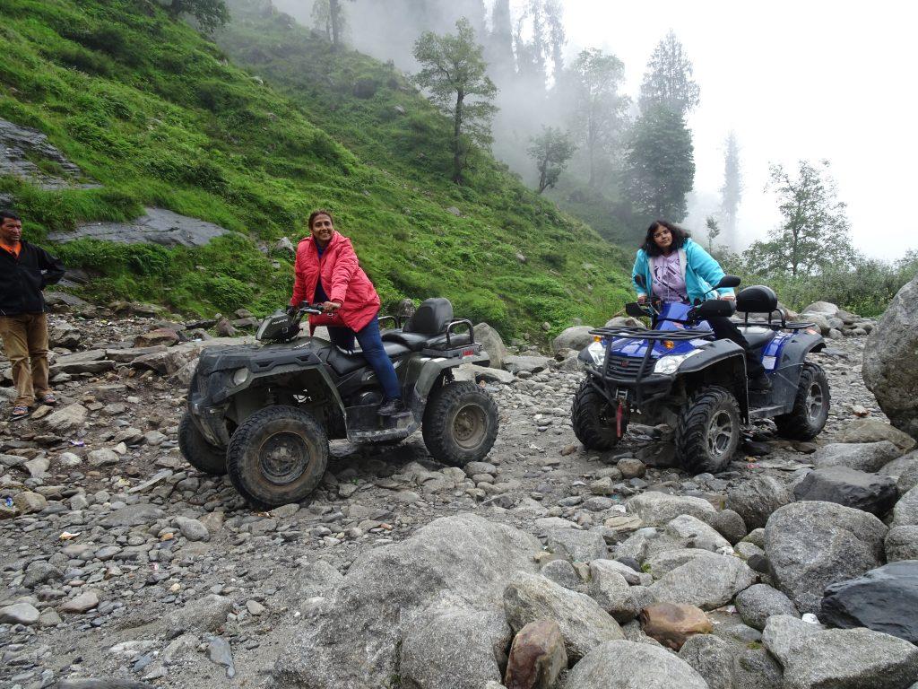 ATV rides at Solang Valley
