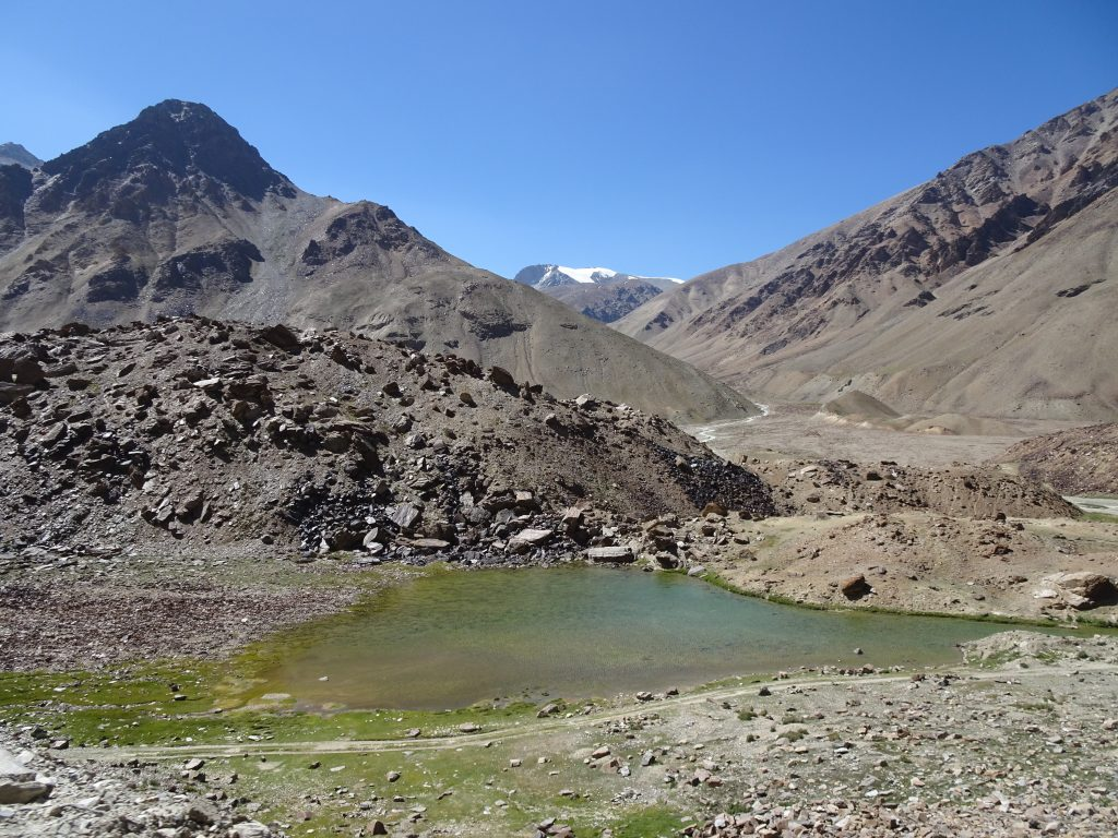 Lake out of nowhere - Leh Manali Highway