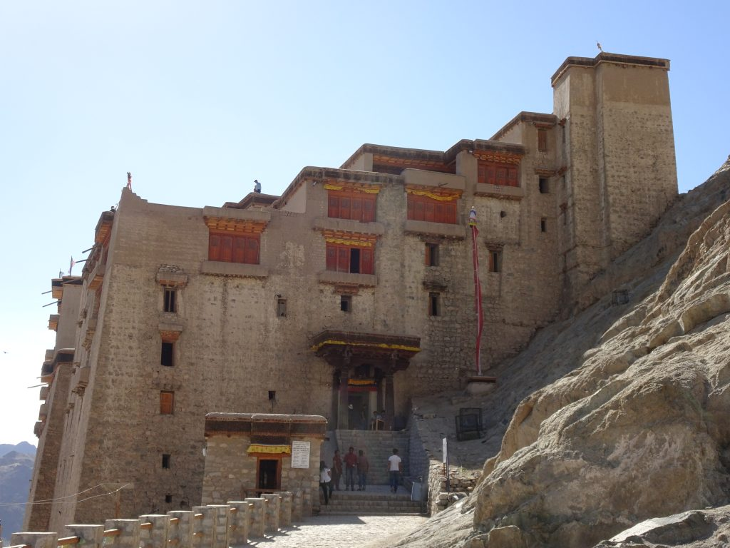 Leh Palace from outside