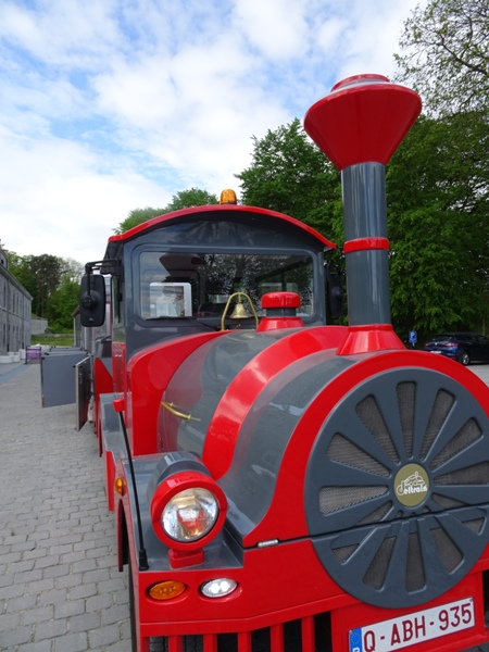 Mini-Train in Belgium