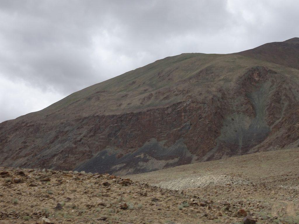 Mountain with a black tinge - Leh Ladakh