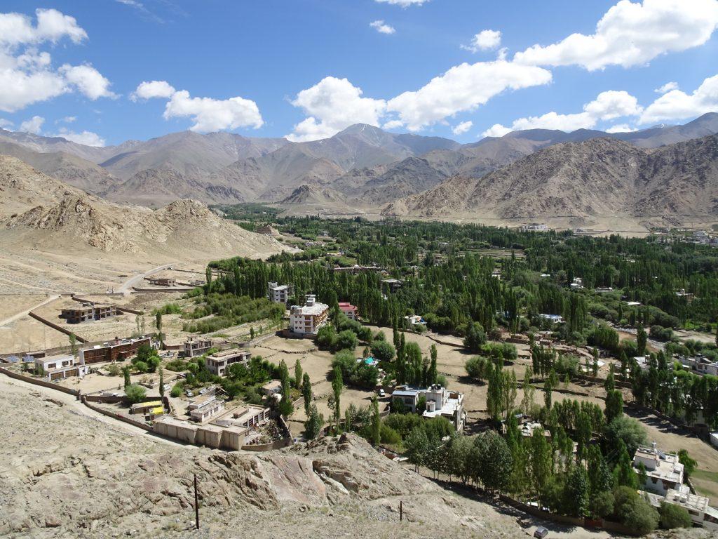Shanti Stupa - View from the bottom
