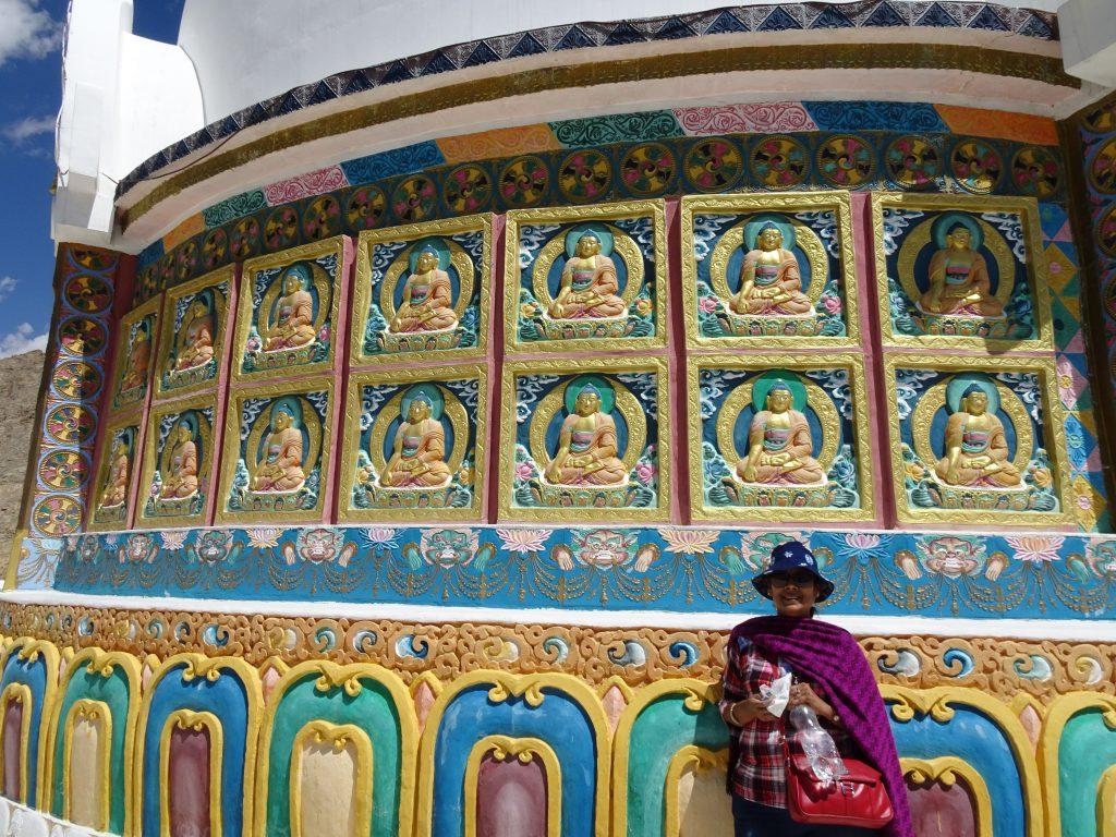 Shanti Stupa - worth the climb