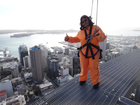 Skywalk in Auckland, New Zealand
