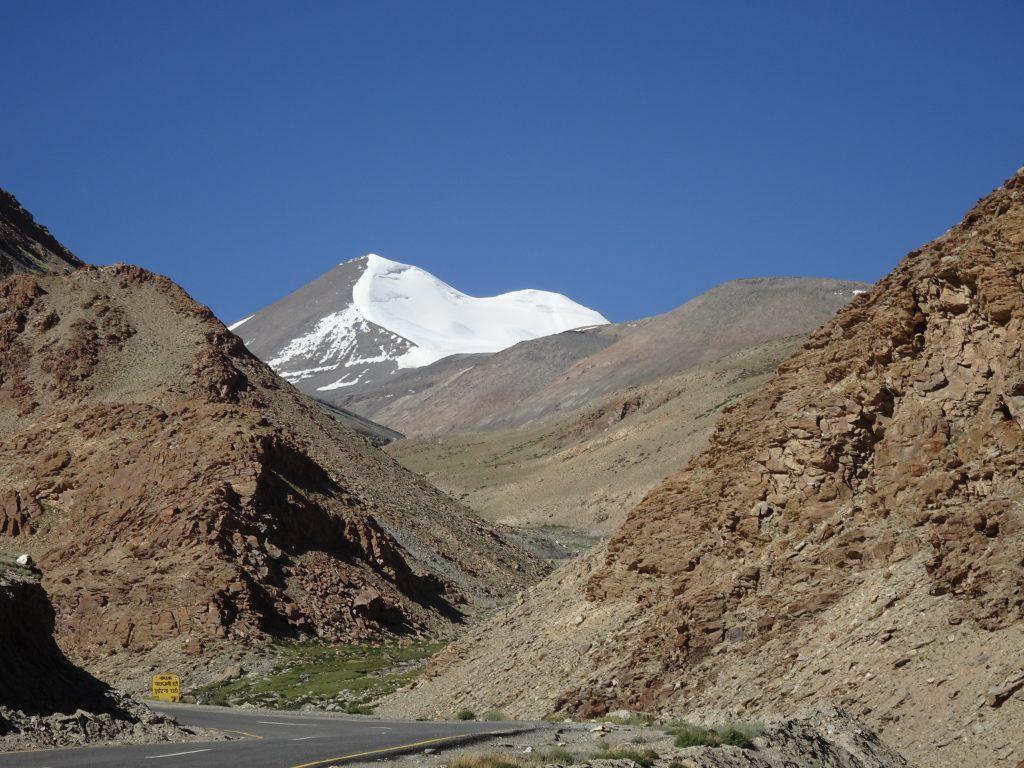 Snow Capped Mountain -Taglang La Pass