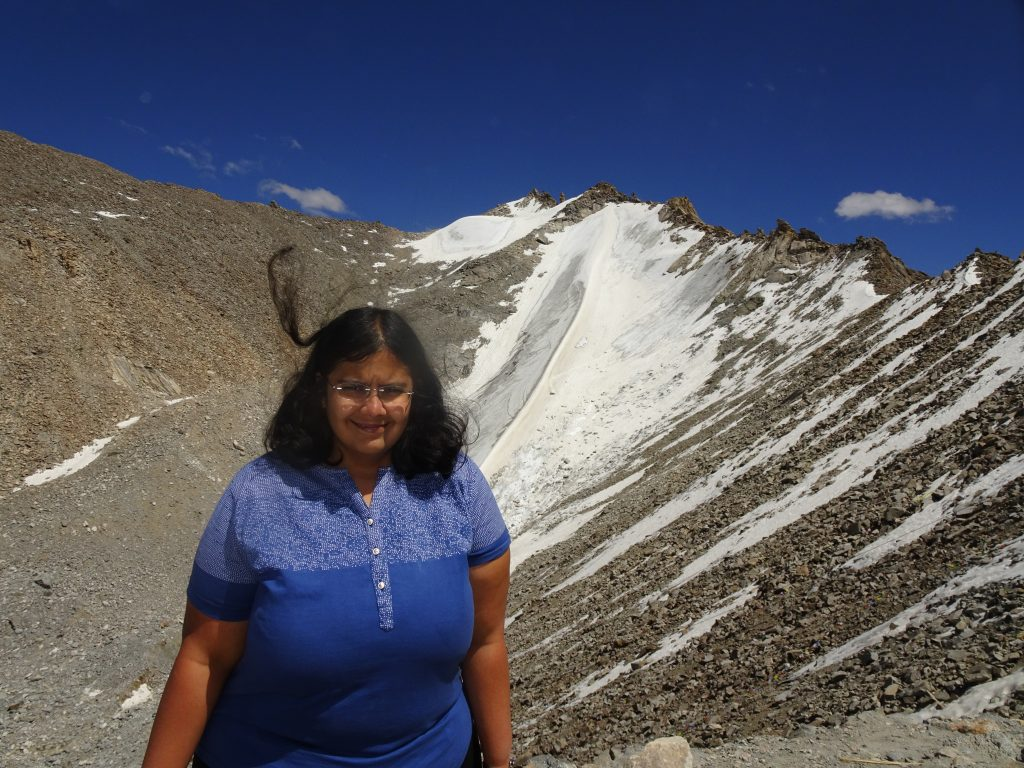 Snow at Khardung La Pass