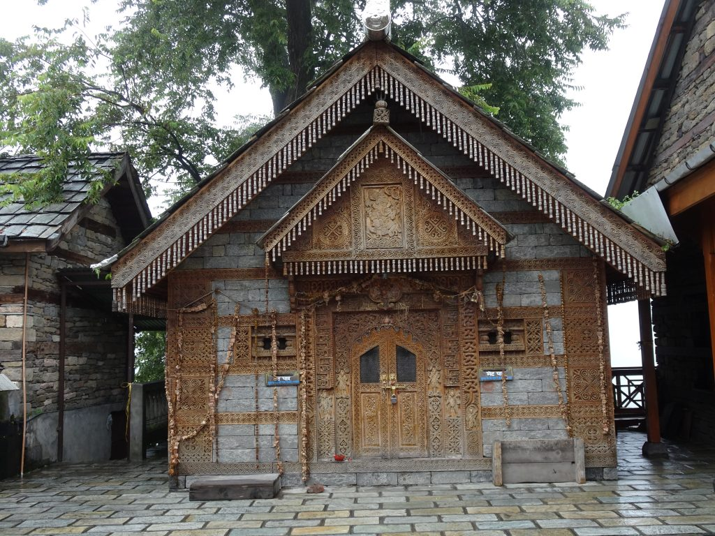 Temple at Naggar Castle