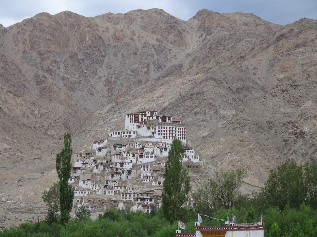 Thiksey Monastery en-route to Pangong Lake