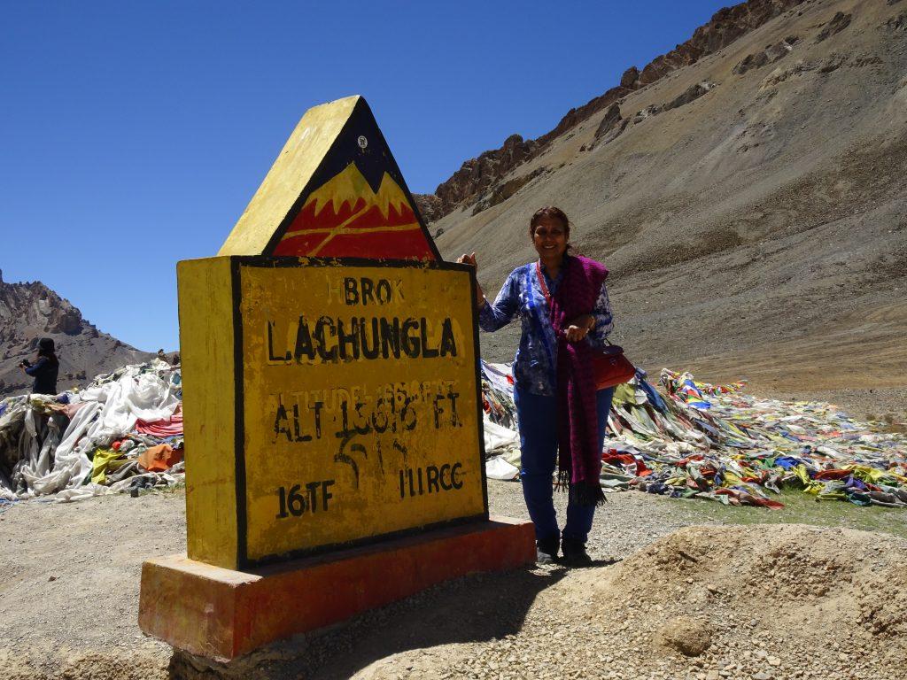 Top of Lachung La