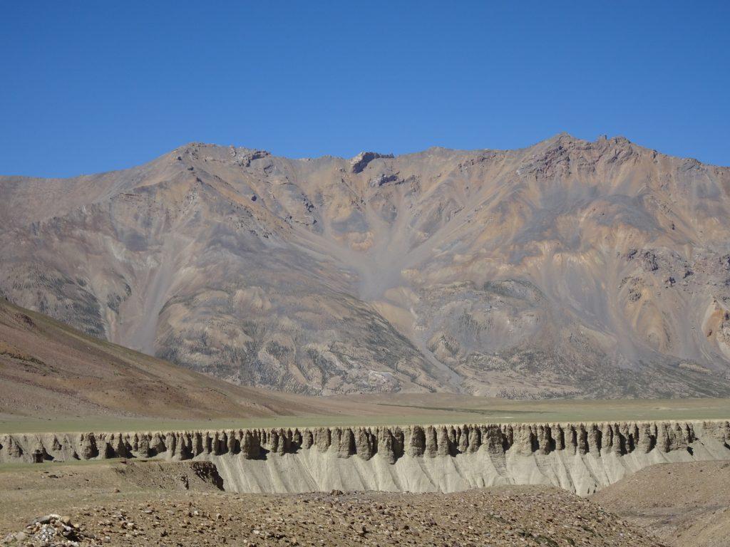 Unique rock formations - Leh Manali Highway