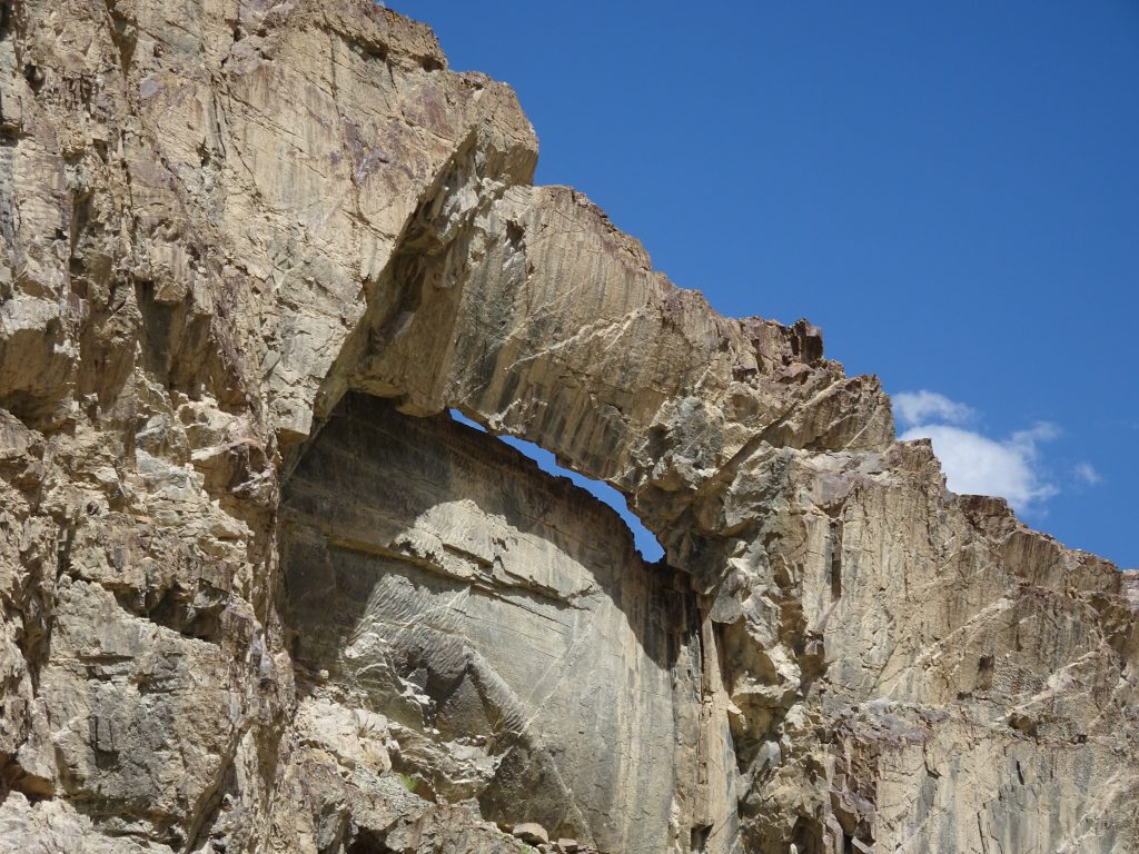 View from Rafting - Leh