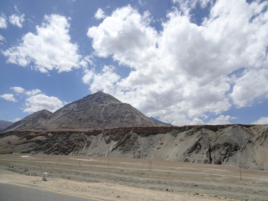 Views from Magnetic Hill - Leh Ladakh itinerary