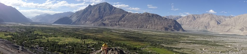 Panoramic View of Diskit