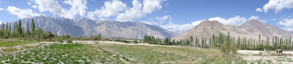 Panoramic View of Nubra Valley