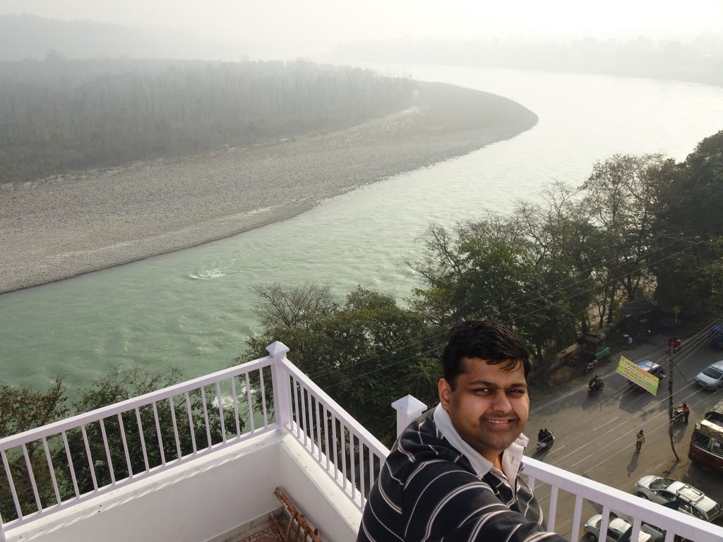 360 degree viewing platform at Ellbee Ganga view