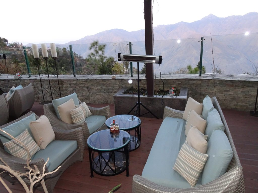 Ambience at Wisteria Deck, Mussoorie