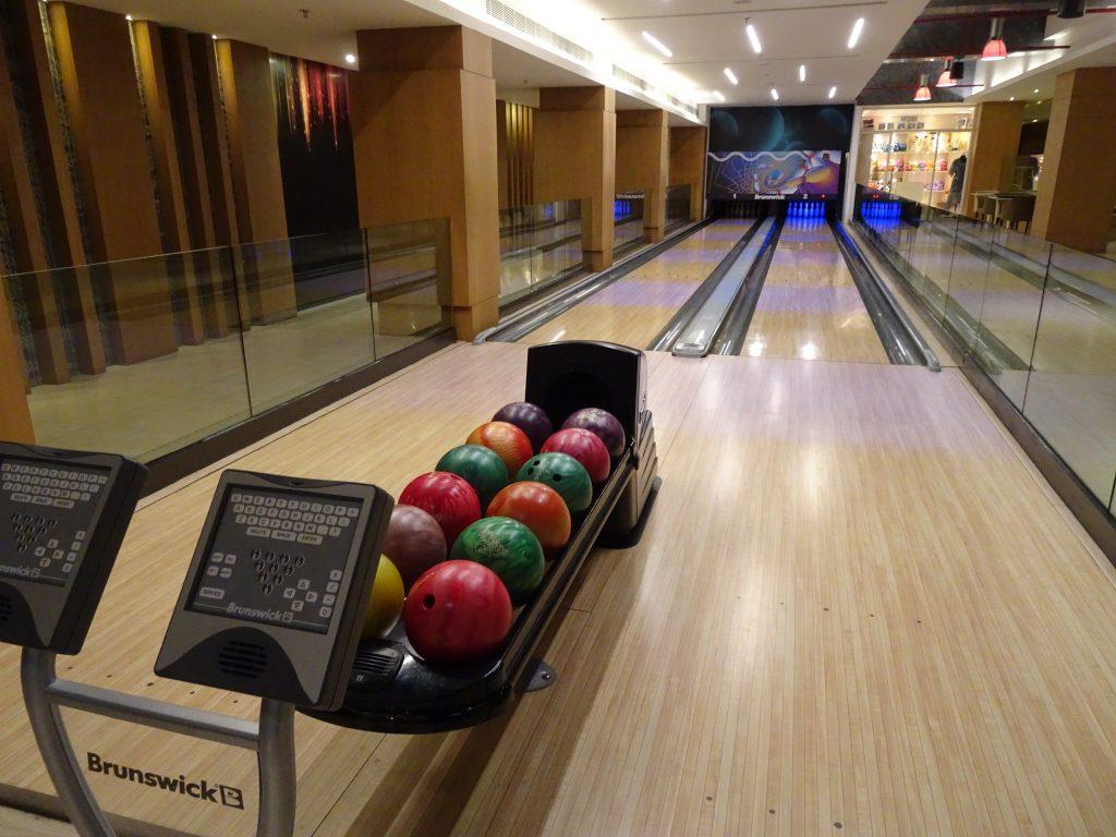 Bowling at Marriott, Mussoorie
