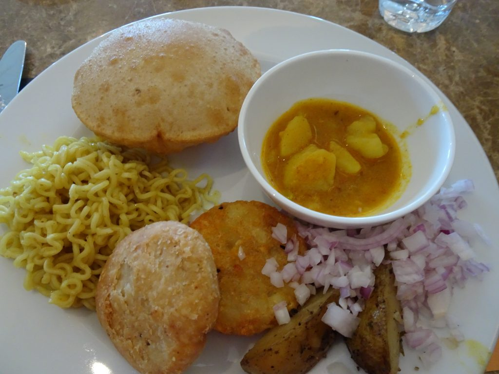 Breakfast at Marriott, Mussoorie