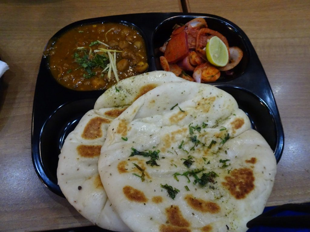 Food at Delhi domestic airport