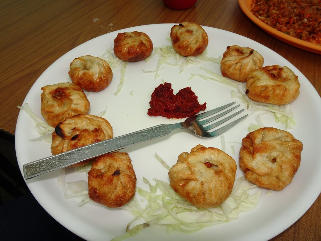 Fried Momos at Pangong