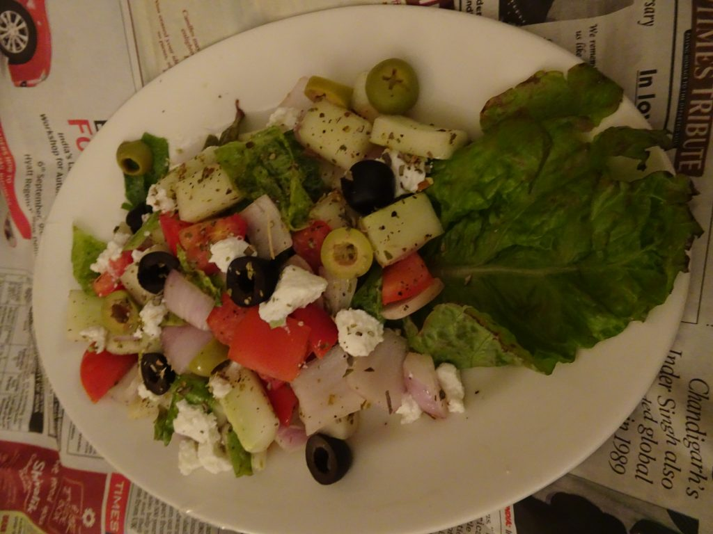 Greek Salad at Grand Dragon