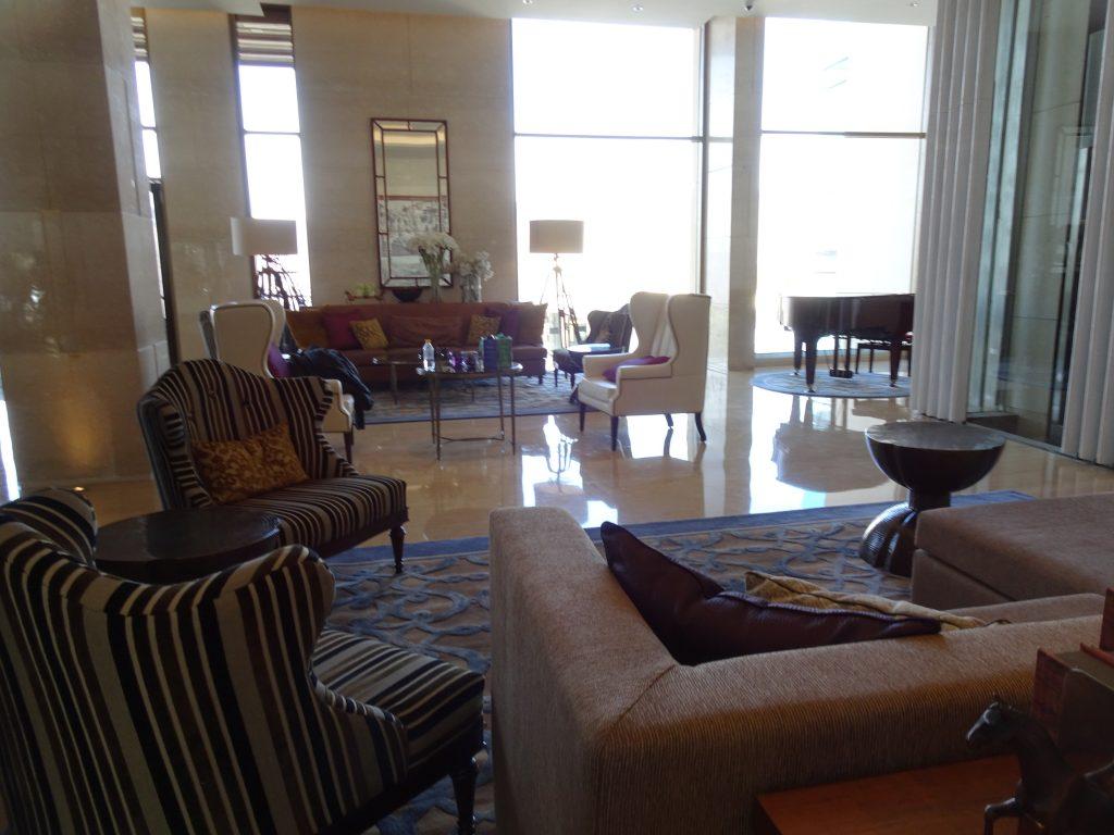 Lobby at JW Marriott, Mussoorie