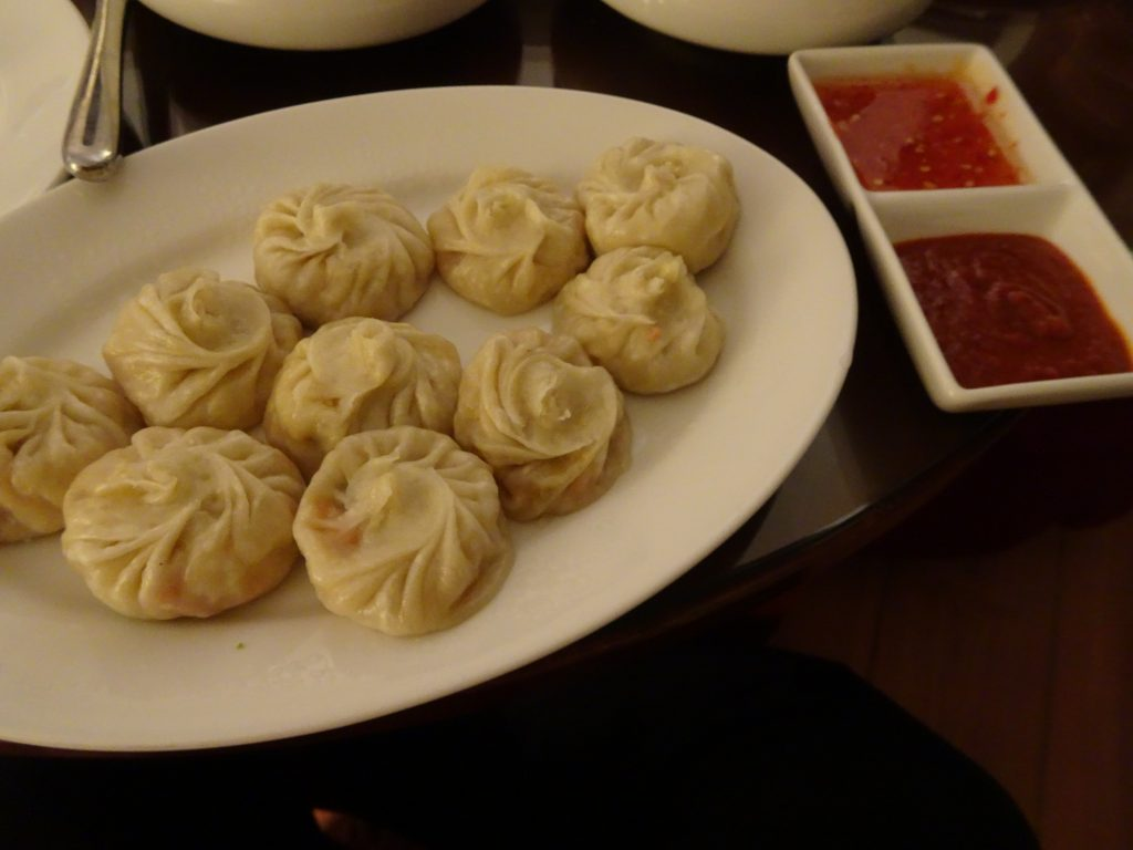 Momos at Grand Dragon - Vegetarian Food in Leh Ladakh