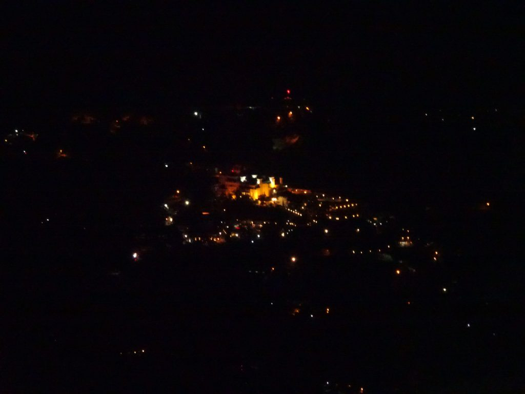 Night View of Gun Hill