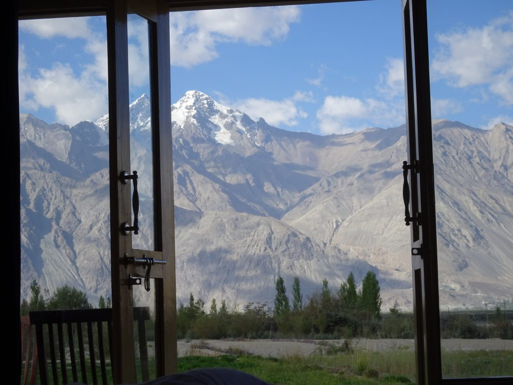 Nubra Eco-Lodge - View from our room