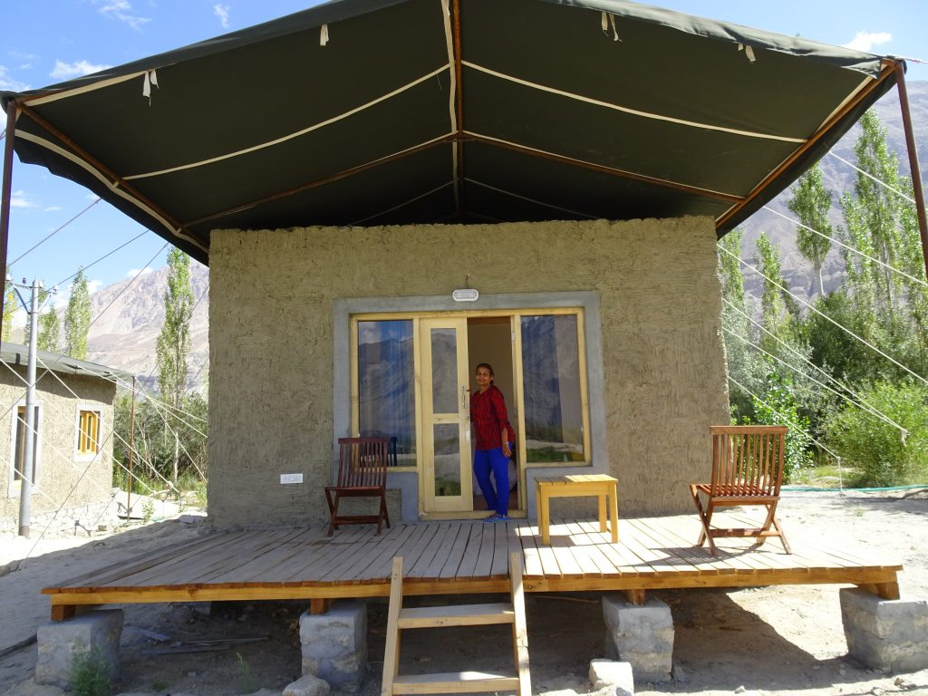 Nubra Eco-Lodge - cottage - Accommodations in Leh Ladakh