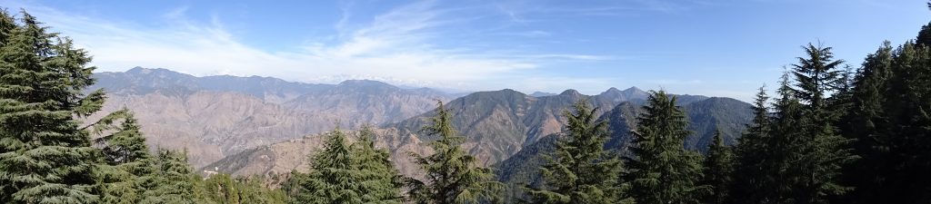 Panoramic View of Lal Tibba - Uttarakhand itinerary