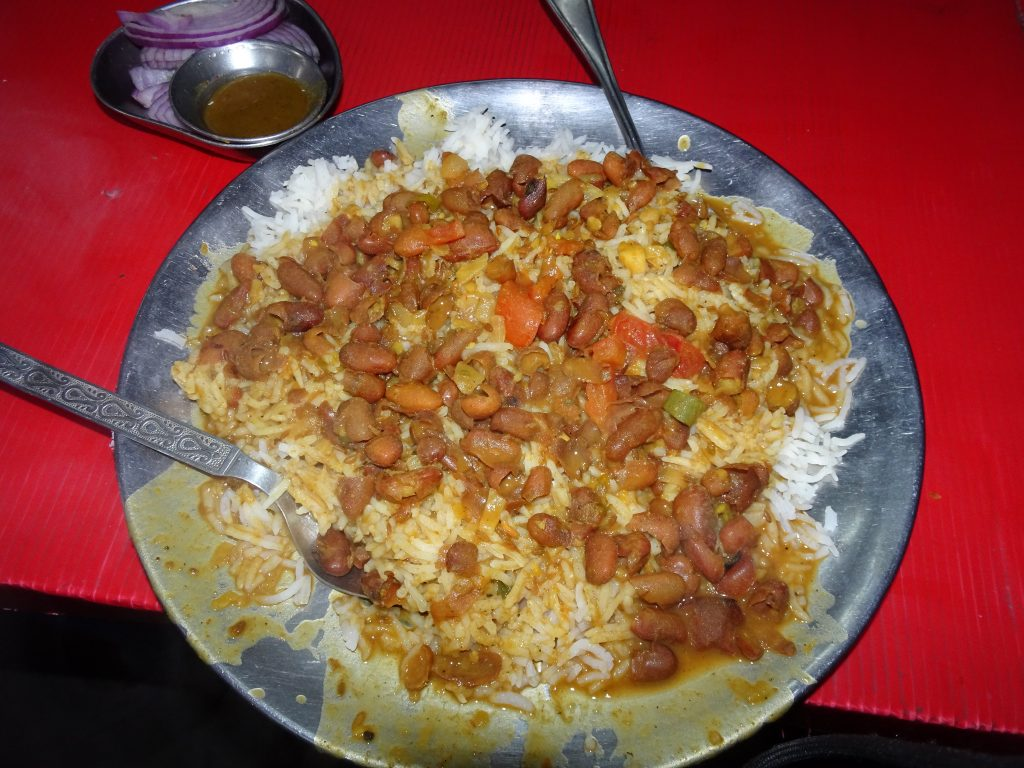 Rajma Chawal at Gun Hill