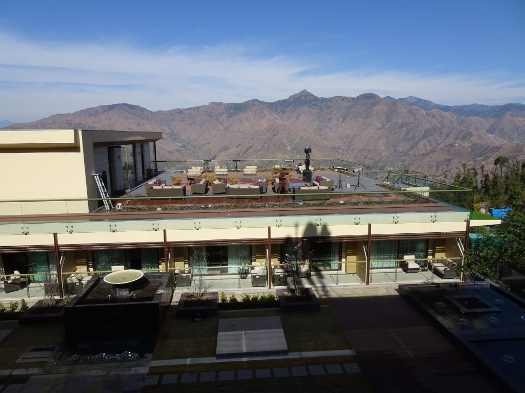 Room with a view at JW Marriott, Mussoorie