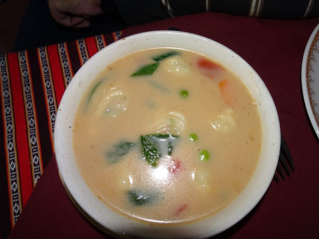 Thukpa at Tibetian Kitchen - Vegetarian Food in Leh Ladakh