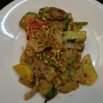 Veg Stir fry at Teppan, Mussoorie
