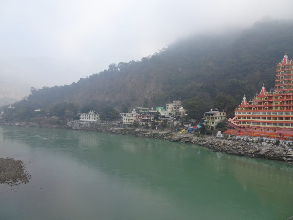 View from Lakshman Jhula