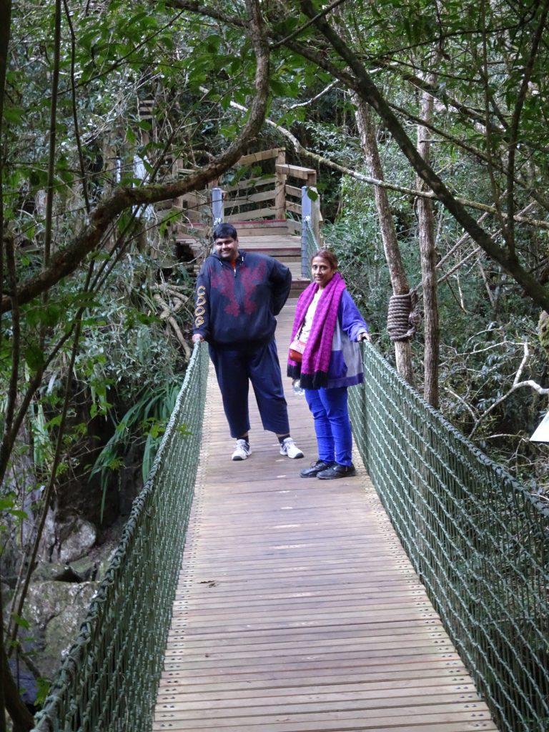 Bridge at Graskop Gorge
