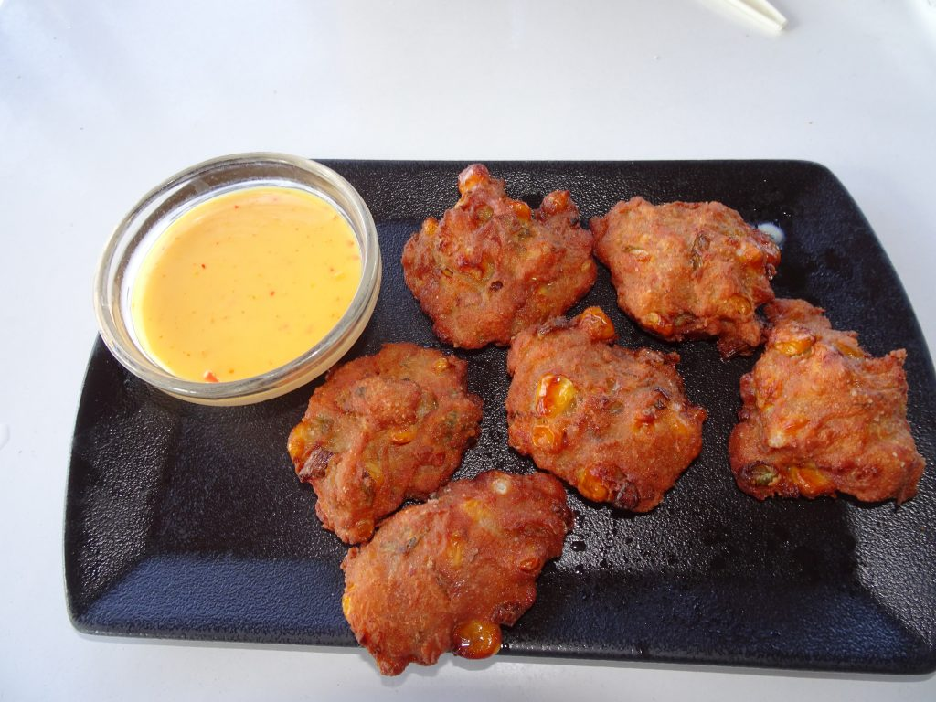 Corn Fritters at Lower Sabie