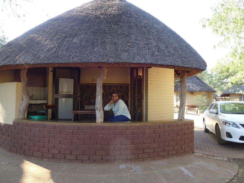 Our Rondavel at Satara