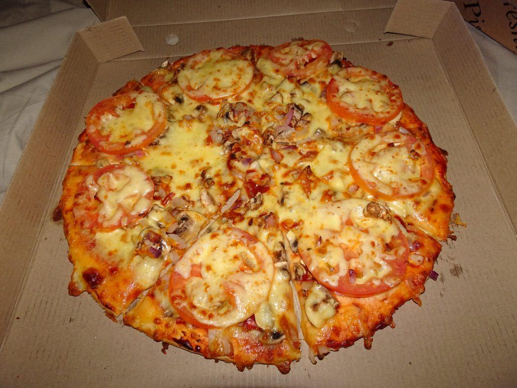 Pizza at Satara