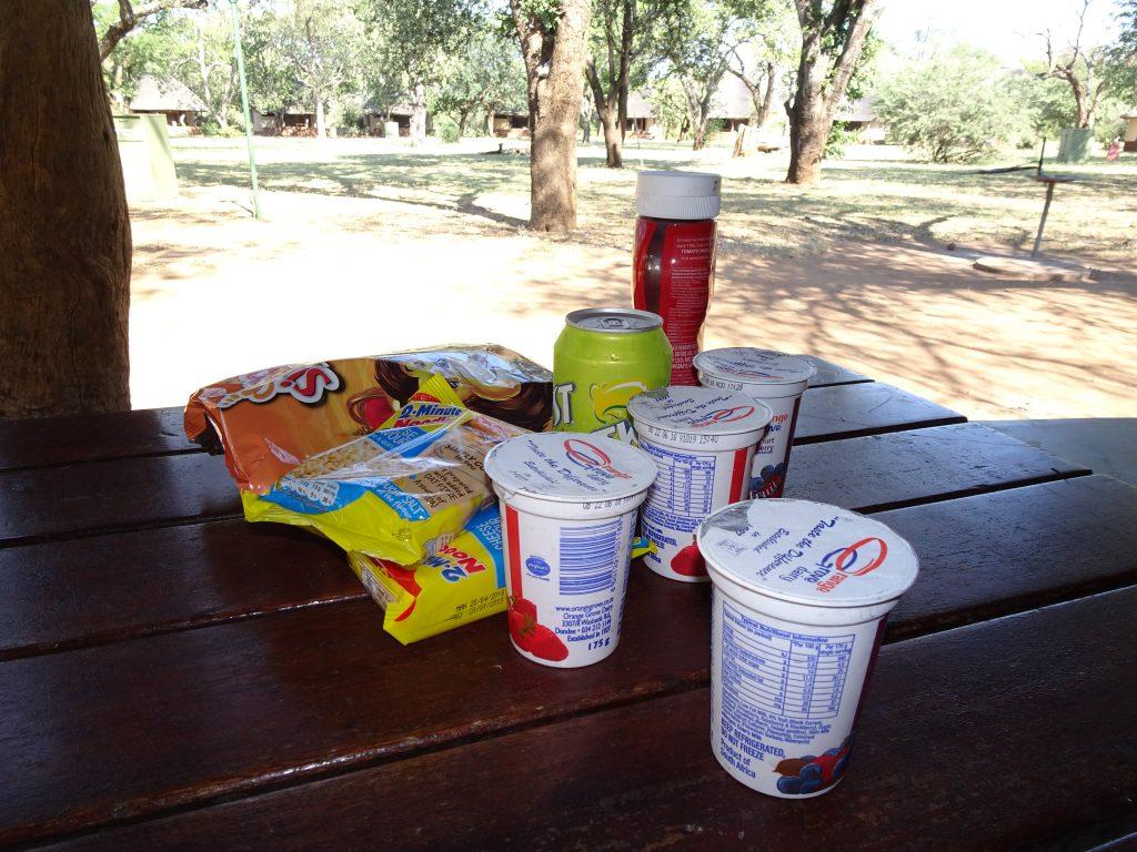 Supplies at Satara