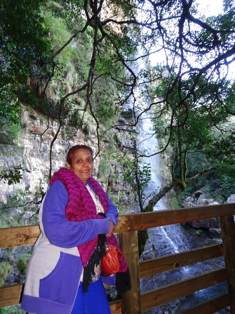 Waterfall at Graskop Gorge
