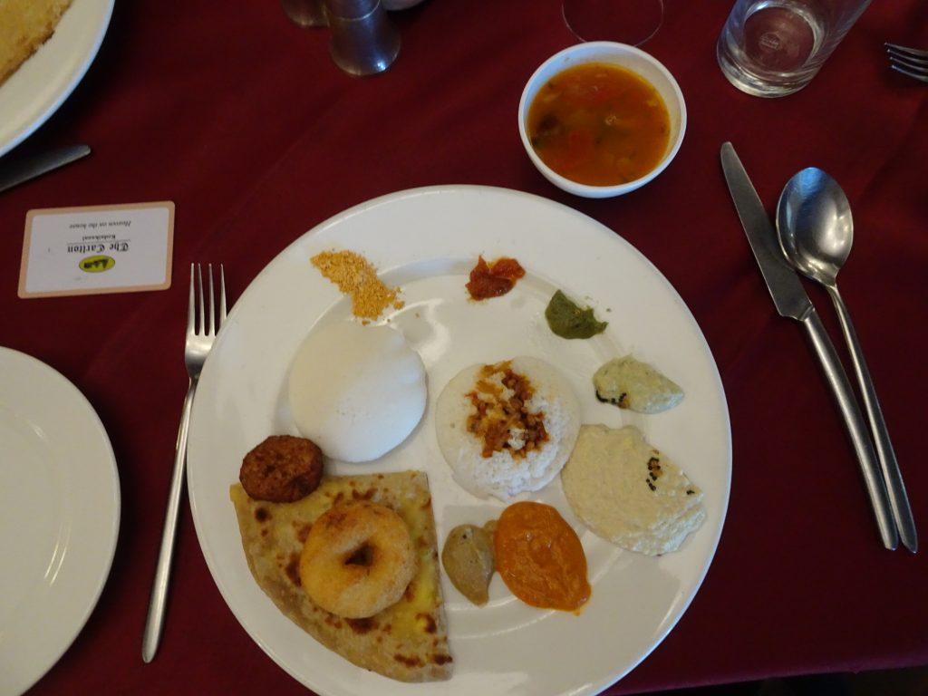 Breakfast at The Carlton, Kodaikanal