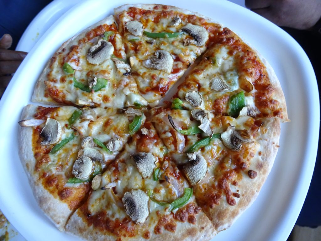 Pizza in Kodaikanal