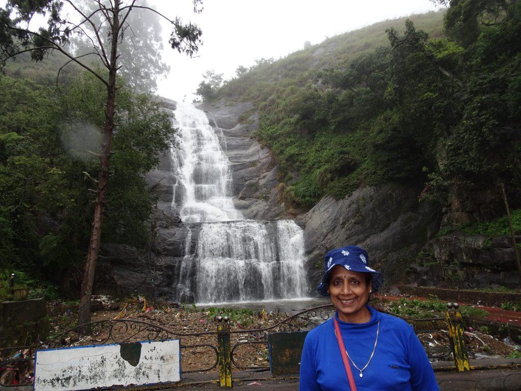 Silver Cascade Falls in Kodaikanal