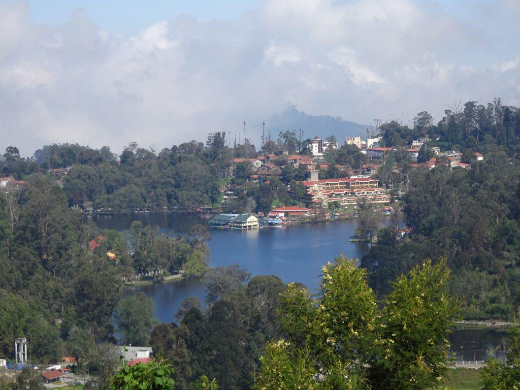 Upper Lake View Point in Kodaikanal