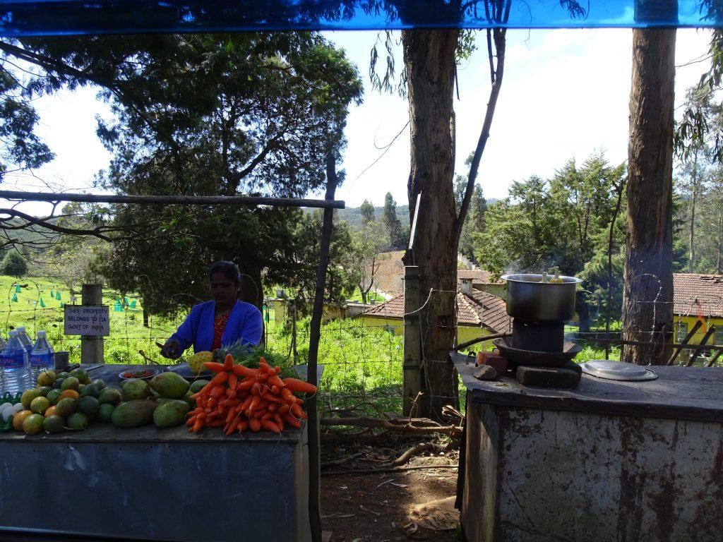 Vendor in Kodaikanal