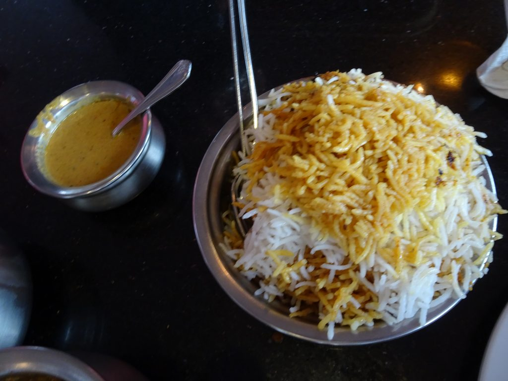 Biryani in Hyderabadi Biryani House