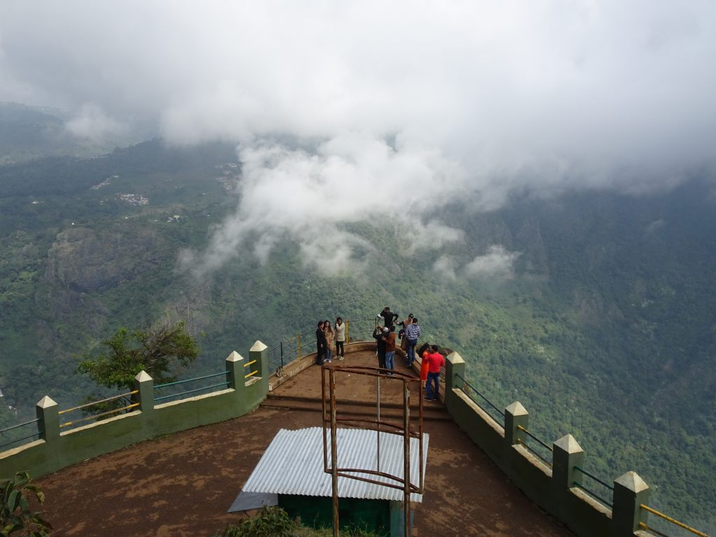Dolphin's Nose Viewpoint in Coonoor