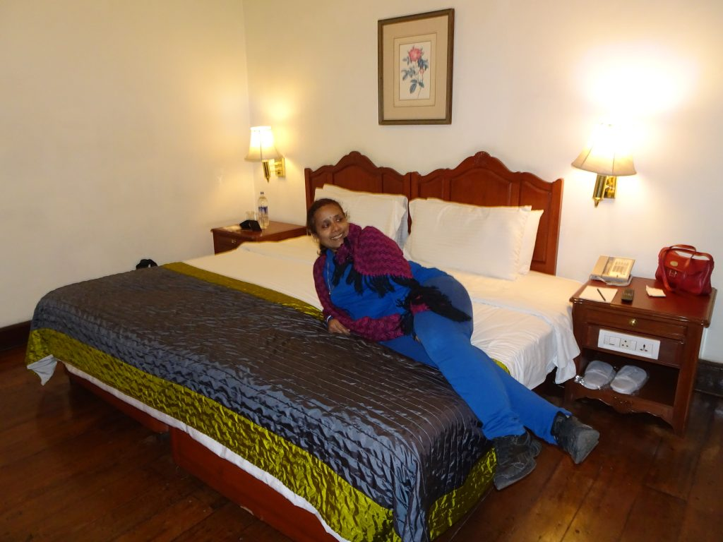 Room at Taj Savoy Hotel Ooty
